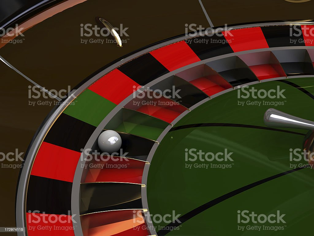 clear roulette for your text stock photo