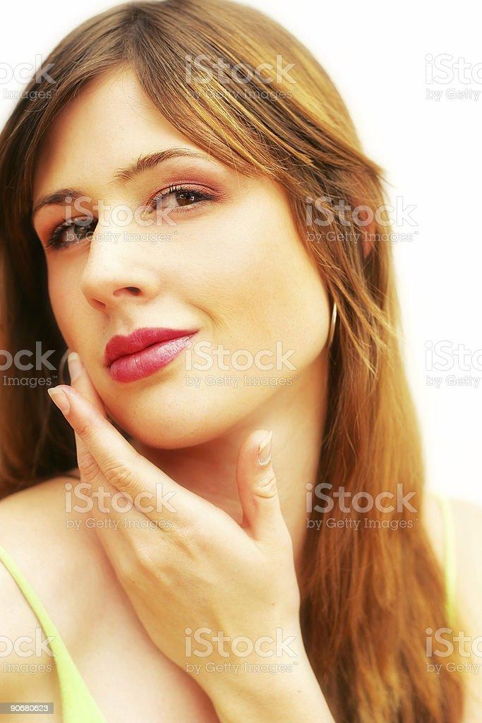 Clear Skin stock photo