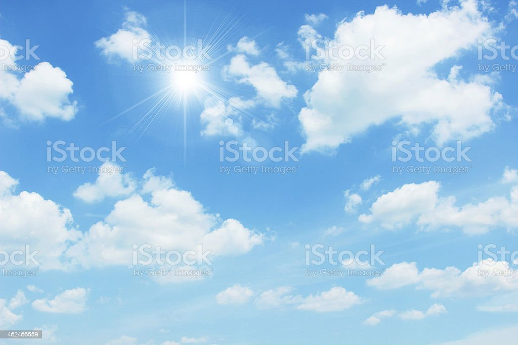 clear sky stock photo