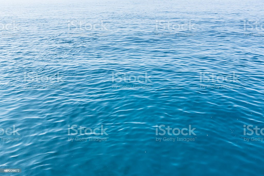 Clear Water on the Mediterranean Sea's Coast stock photo