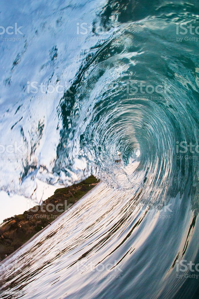 clear wave stock photo