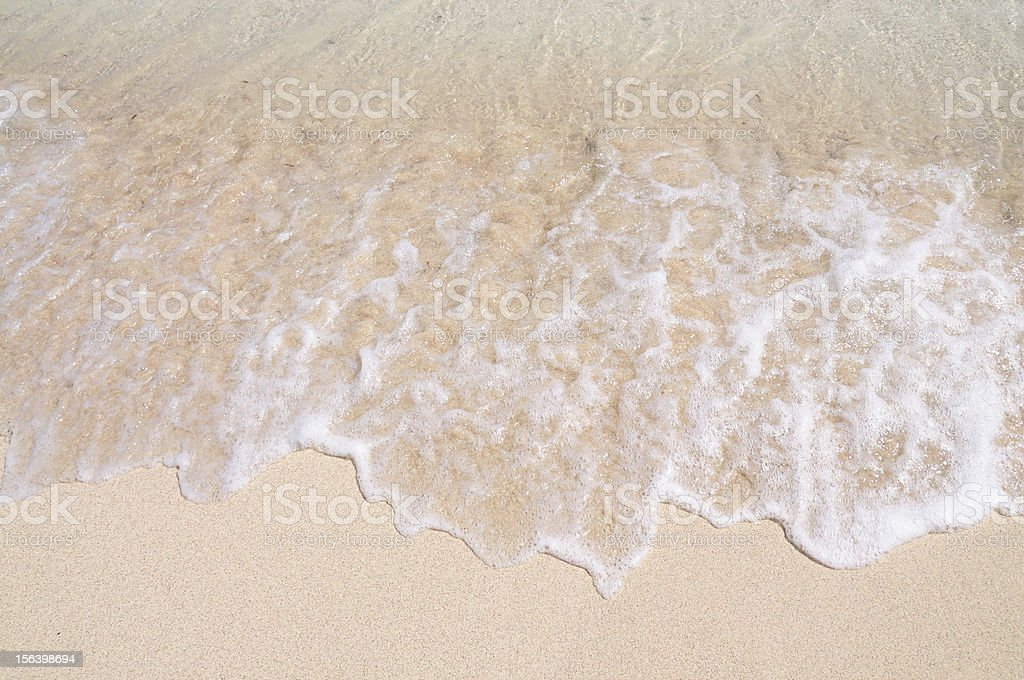 Clear waves royalty-free stock photo