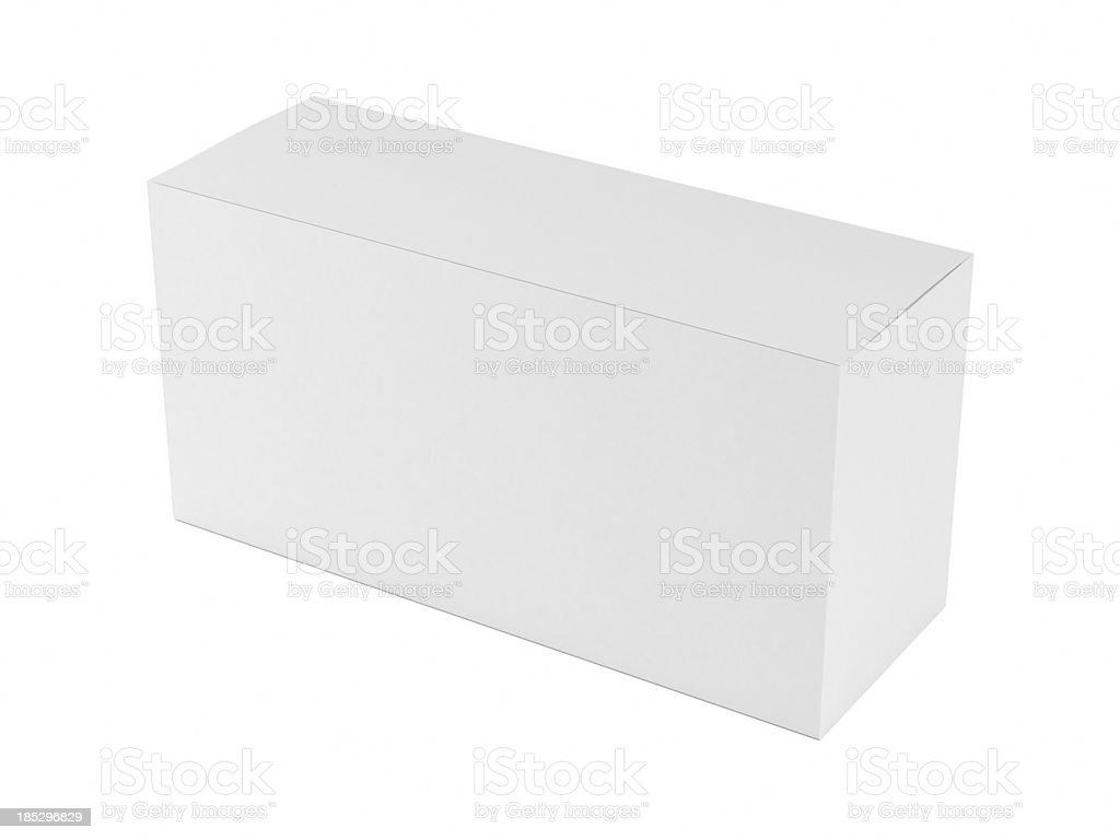 Clear white boxes royalty-free stock photo
