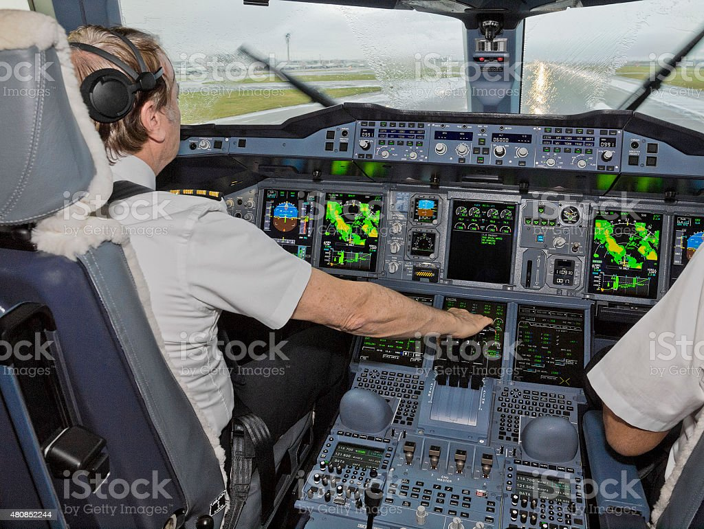 Cleared For Takeoff stock photo