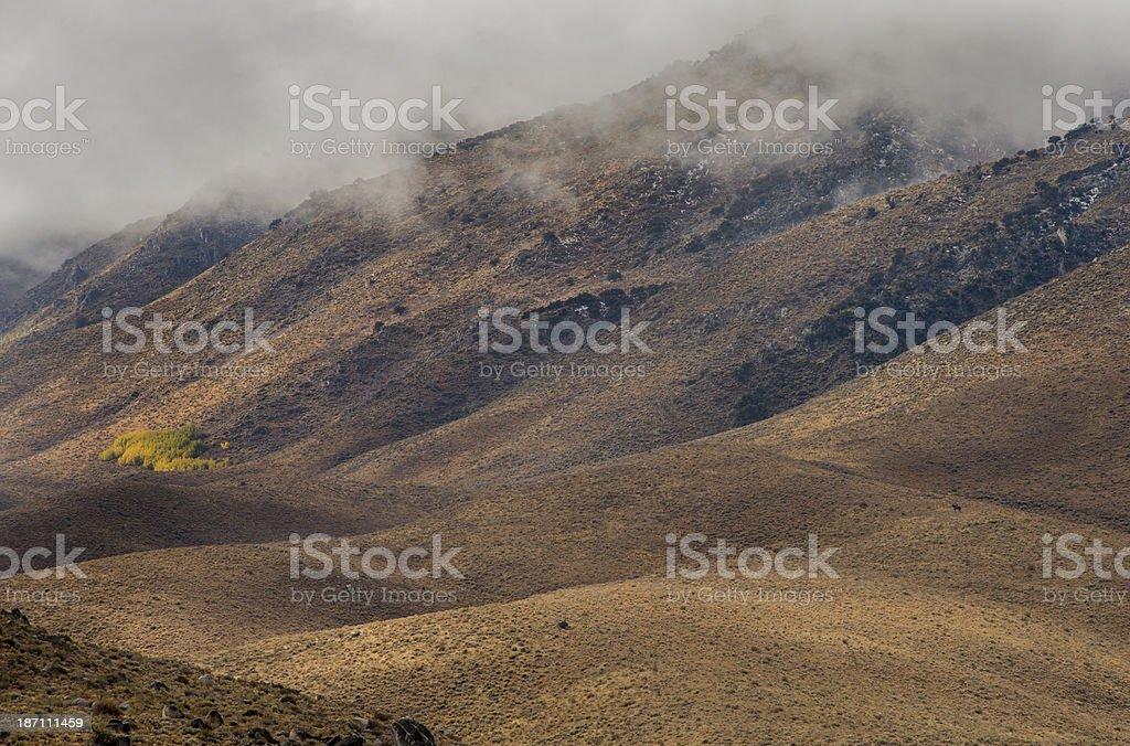 Clearing Storm, Nevada Desert stock photo