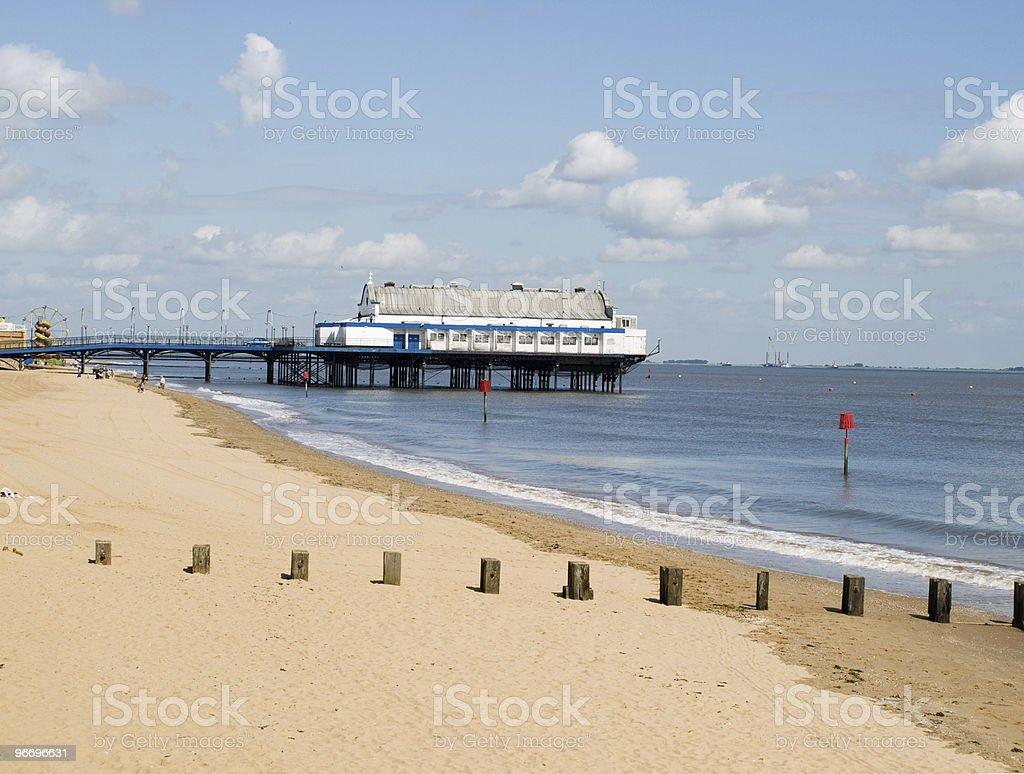 Cleethorpes Pier stock photo