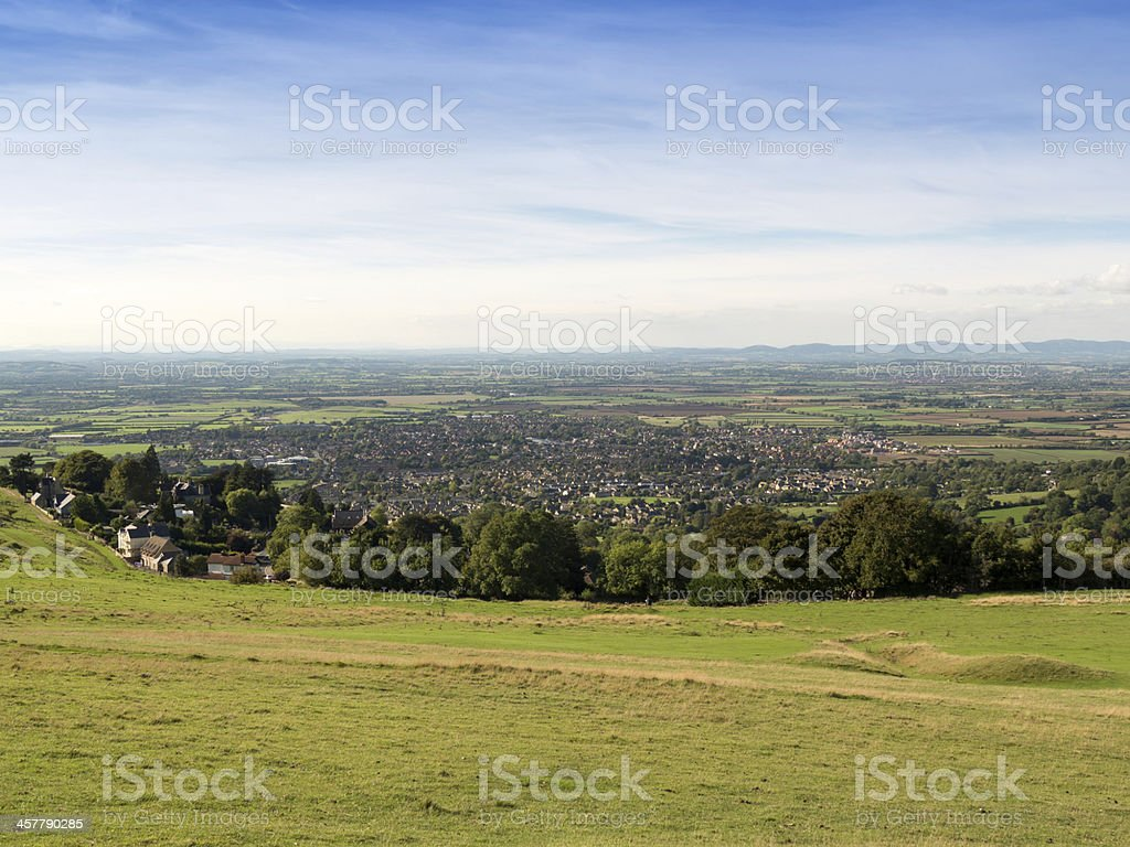 cleeve hill royalty-free stock photo