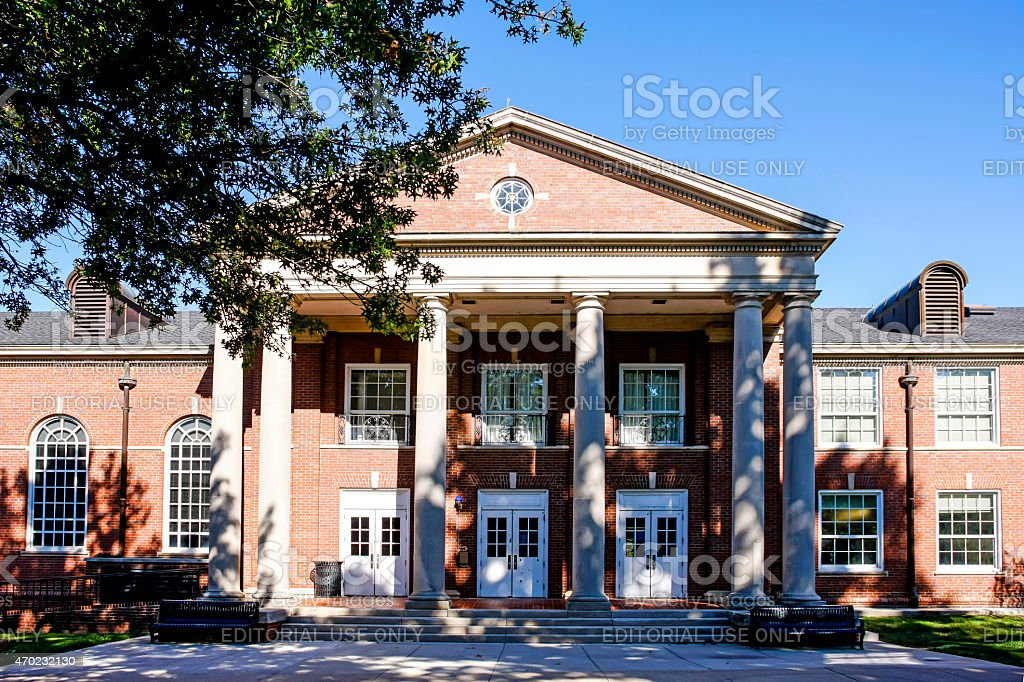 Clement Building at Austin Peay State University TN stock photo