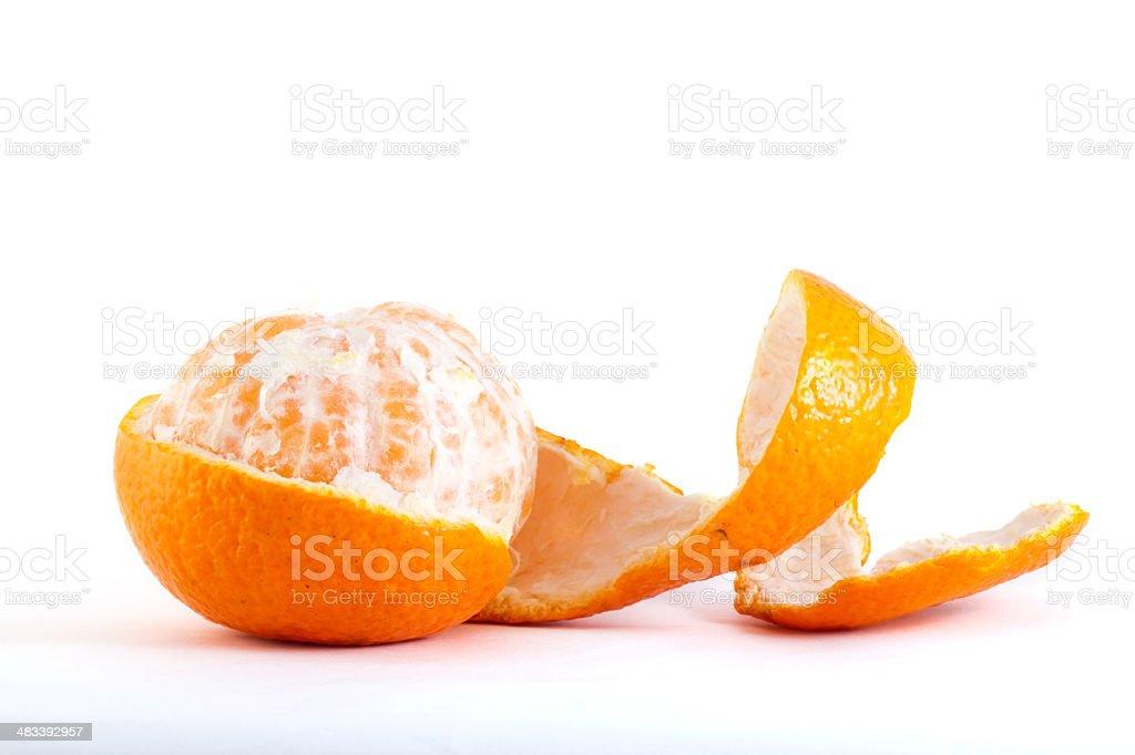 Clementine Mandarin Orange royalty-free stock photo