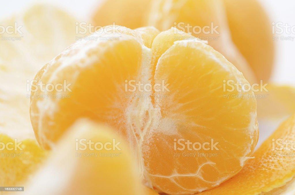 Clementine Orange stock photo