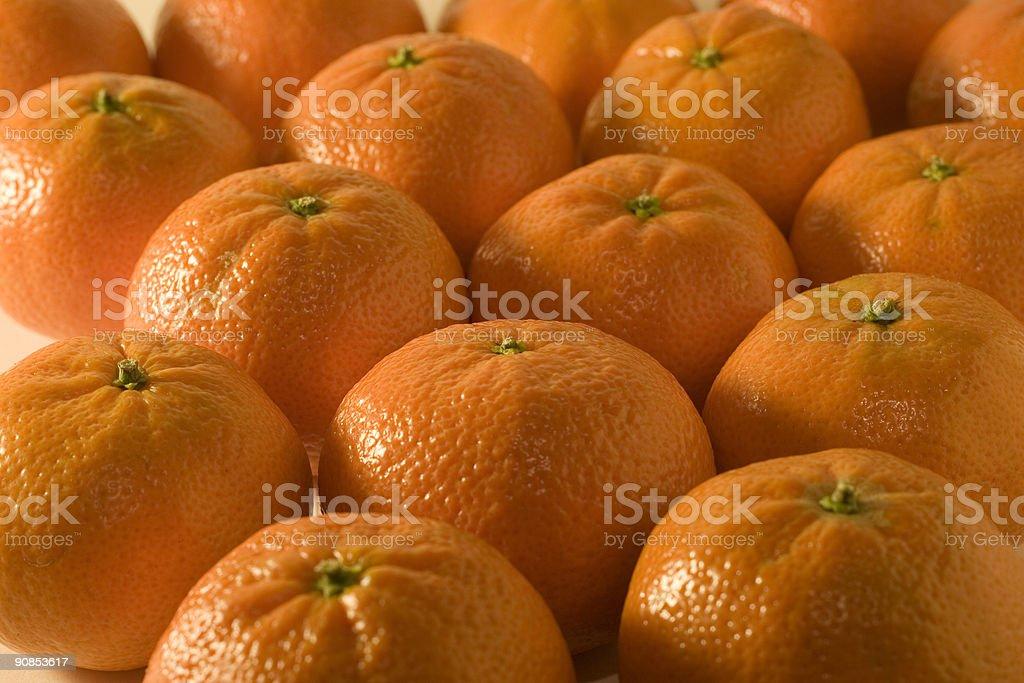 Clementines - Easy to peel stock photo