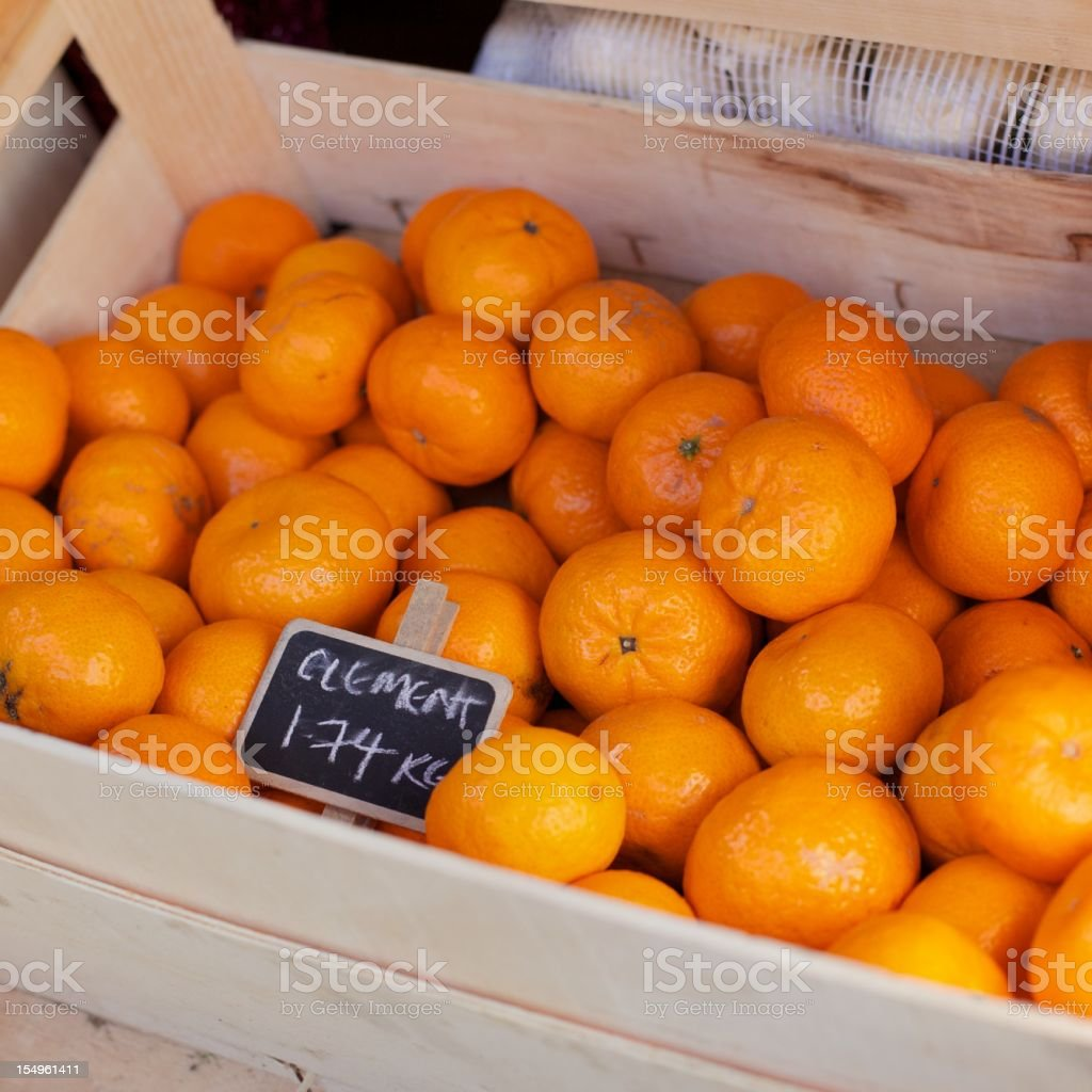Clementines... royalty-free stock photo