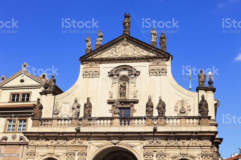 Clementinum,Prague, stock photo