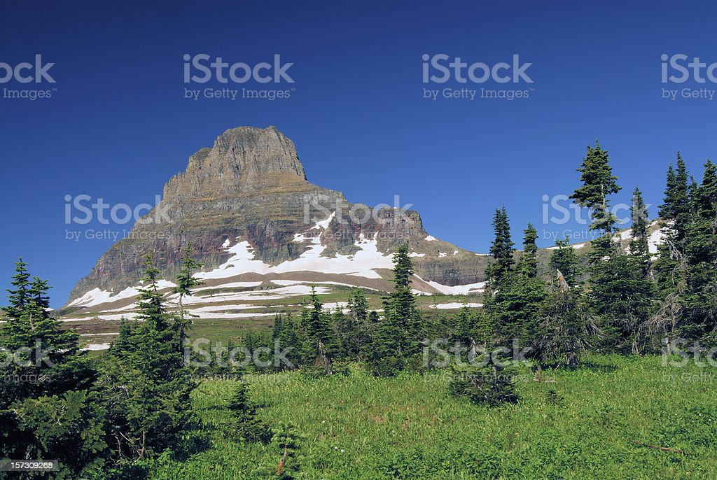 Clements Mtn royalty-free stock photo