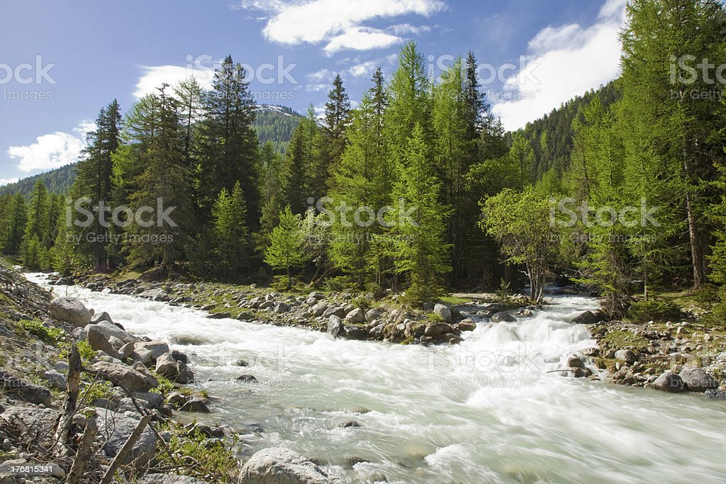 Clemgia River royalty-free stock photo