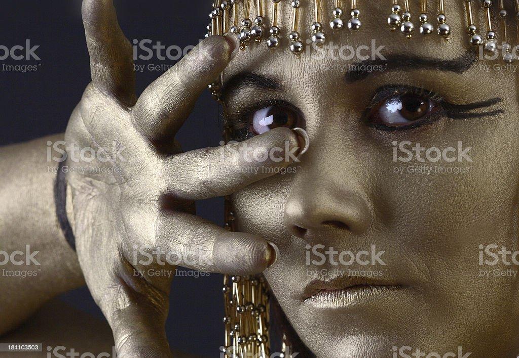 Cleopatra Costume stock photo