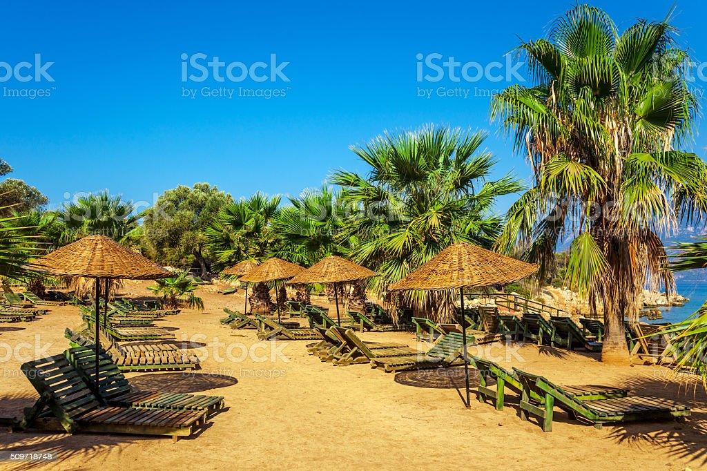 Cleopatra Island stock photo
