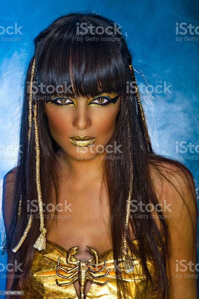 Cleopatra royalty-free stock photo