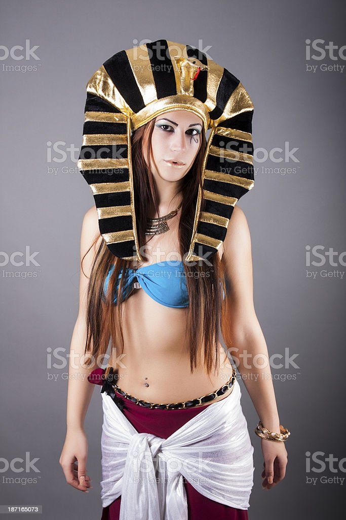 cleopatra queen of egypt royalty-free stock photo