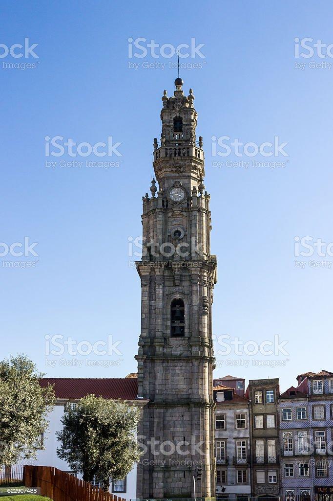 Clerigos tower royalty-free stock photo