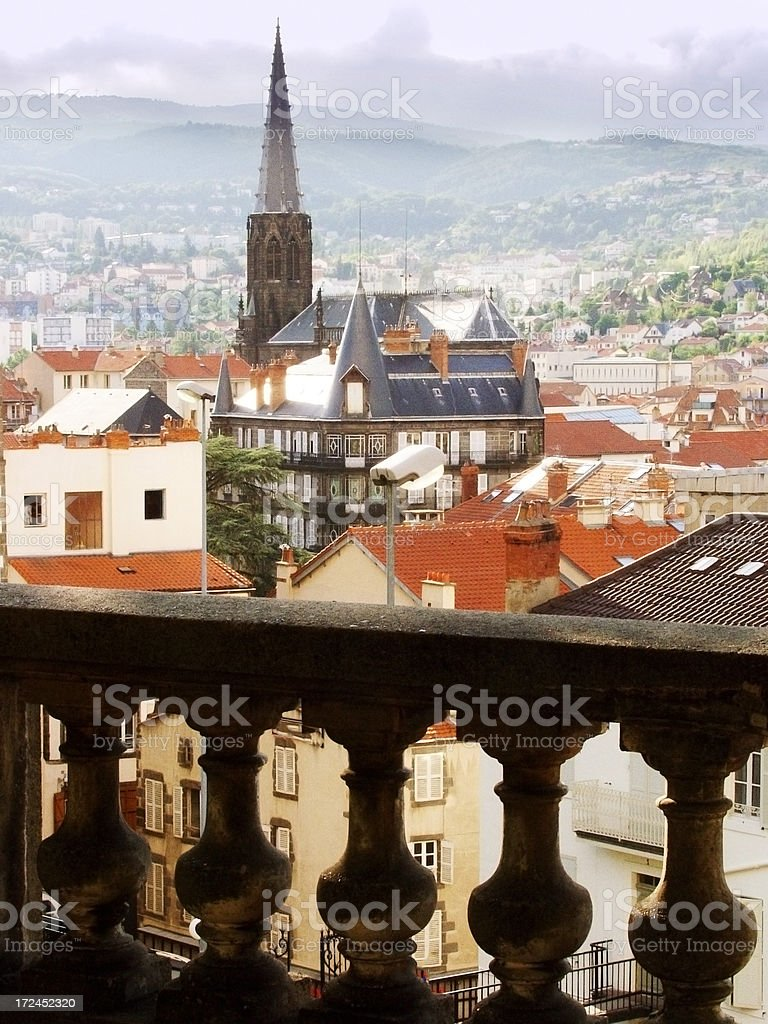 clermont ferrand royalty-free stock photo