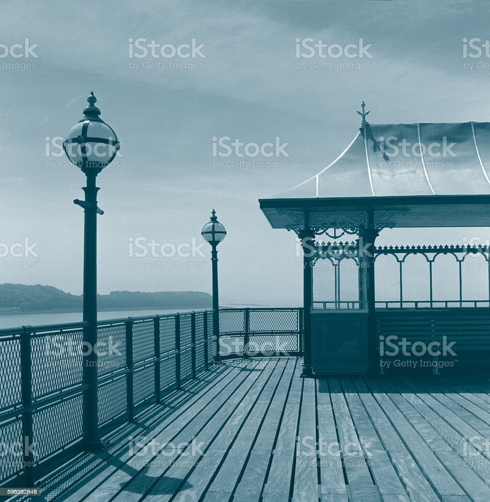 Clevedon Pier 1 stock photo