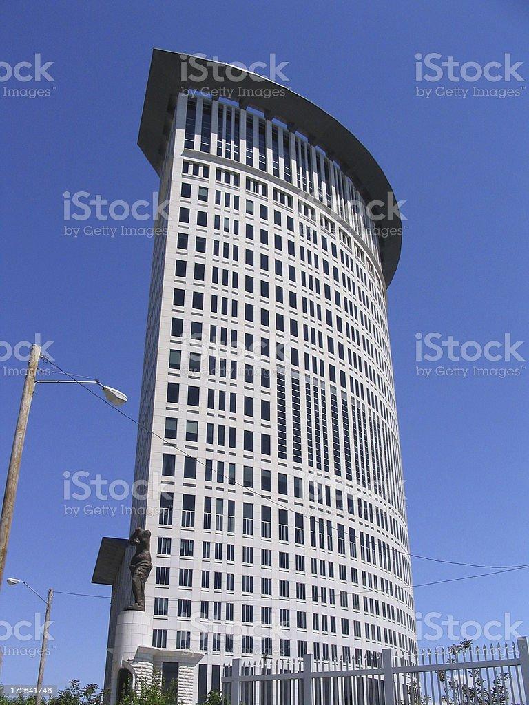 Cleveland Courthouse 1 stock photo