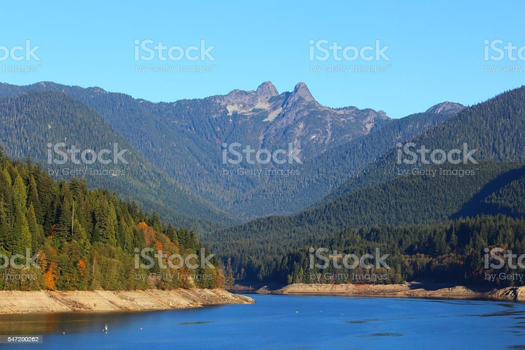 Cleveland Dam, North Vancouver BC, Canada stock photo