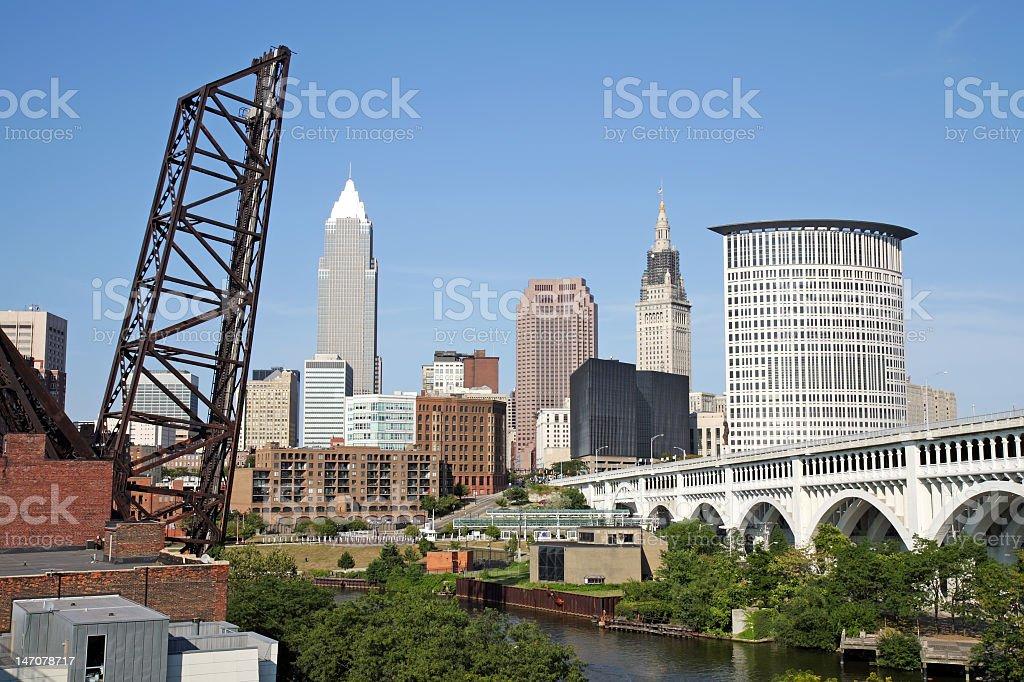Cleveland, Ohio stock photo