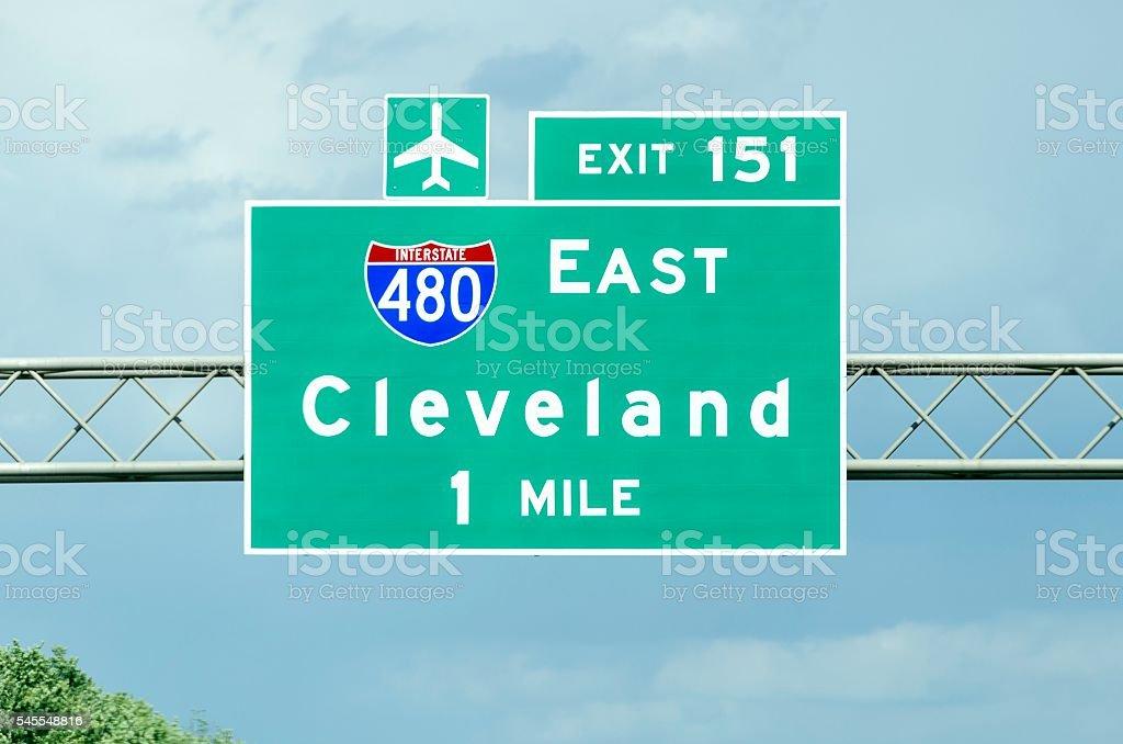 Cleveland Ohio stock photo