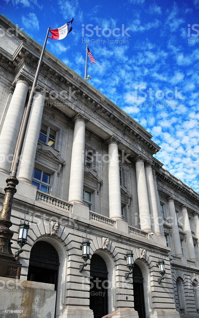 Cleveland, Ohio, USA: City Hall stock photo