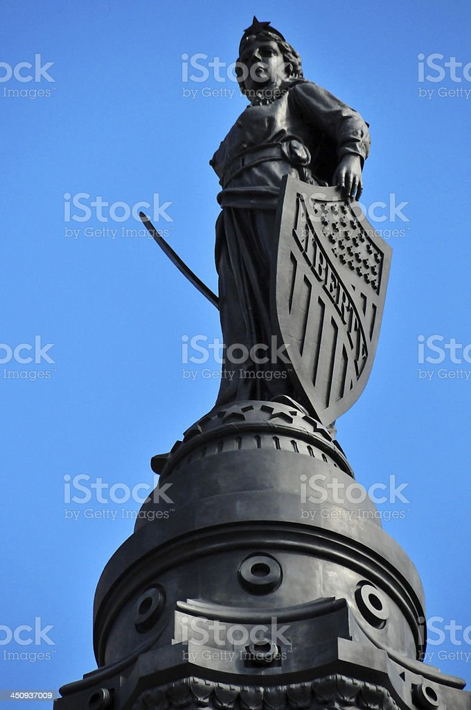 Cleveland, Ohio, USA: Public Square - Soldiers' and Sailors' Monument stock photo