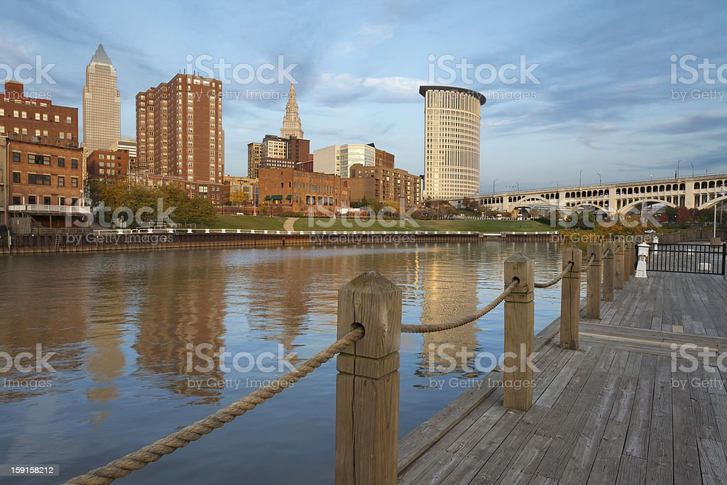 Cleveland. royalty-free stock photo