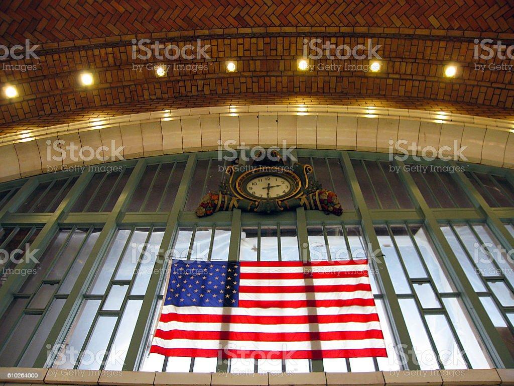 Cleveland's West Side Market stock photo