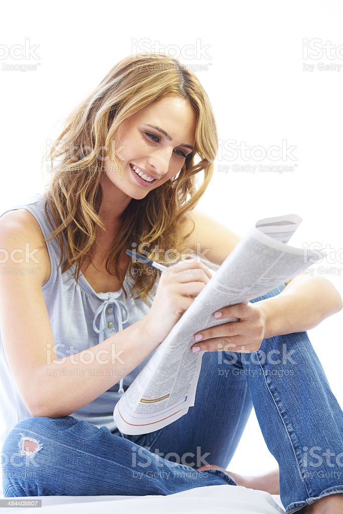Clever and beautiful! stock photo