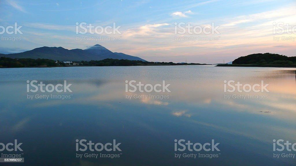 Clew Bay, County Mayo, Ireland stock photo