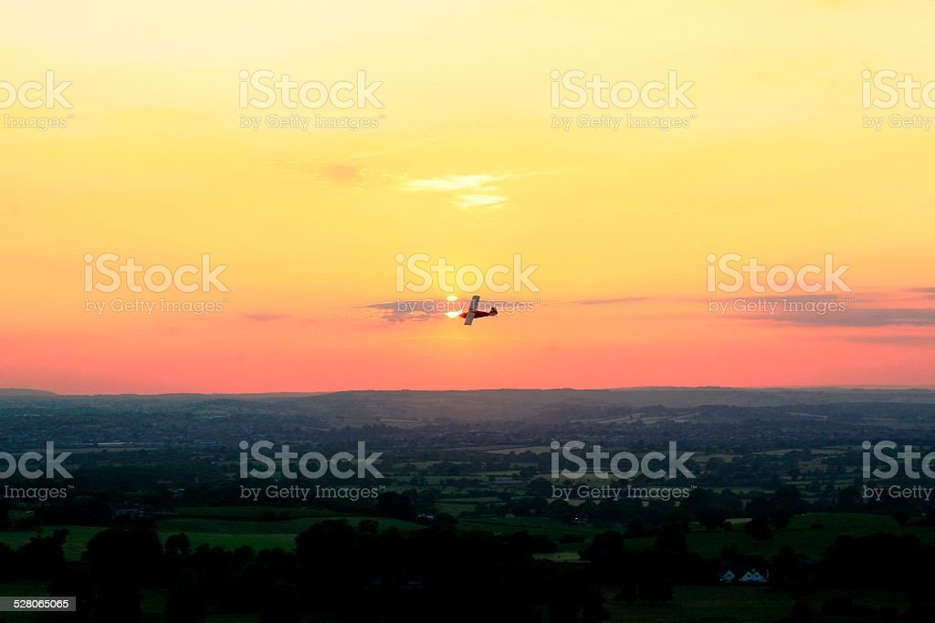 Cley Hill, Warminster stock photo