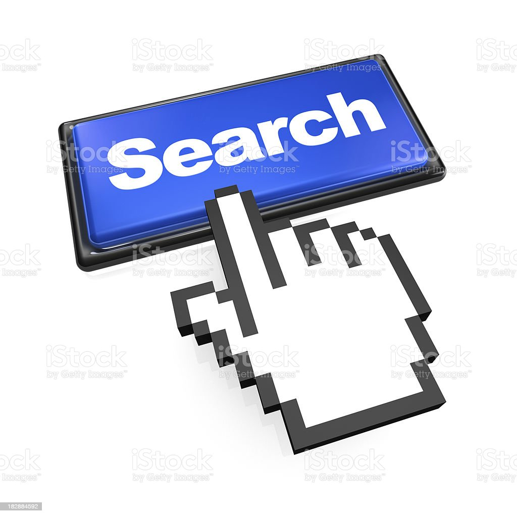 Click on Search Button royalty-free stock photo