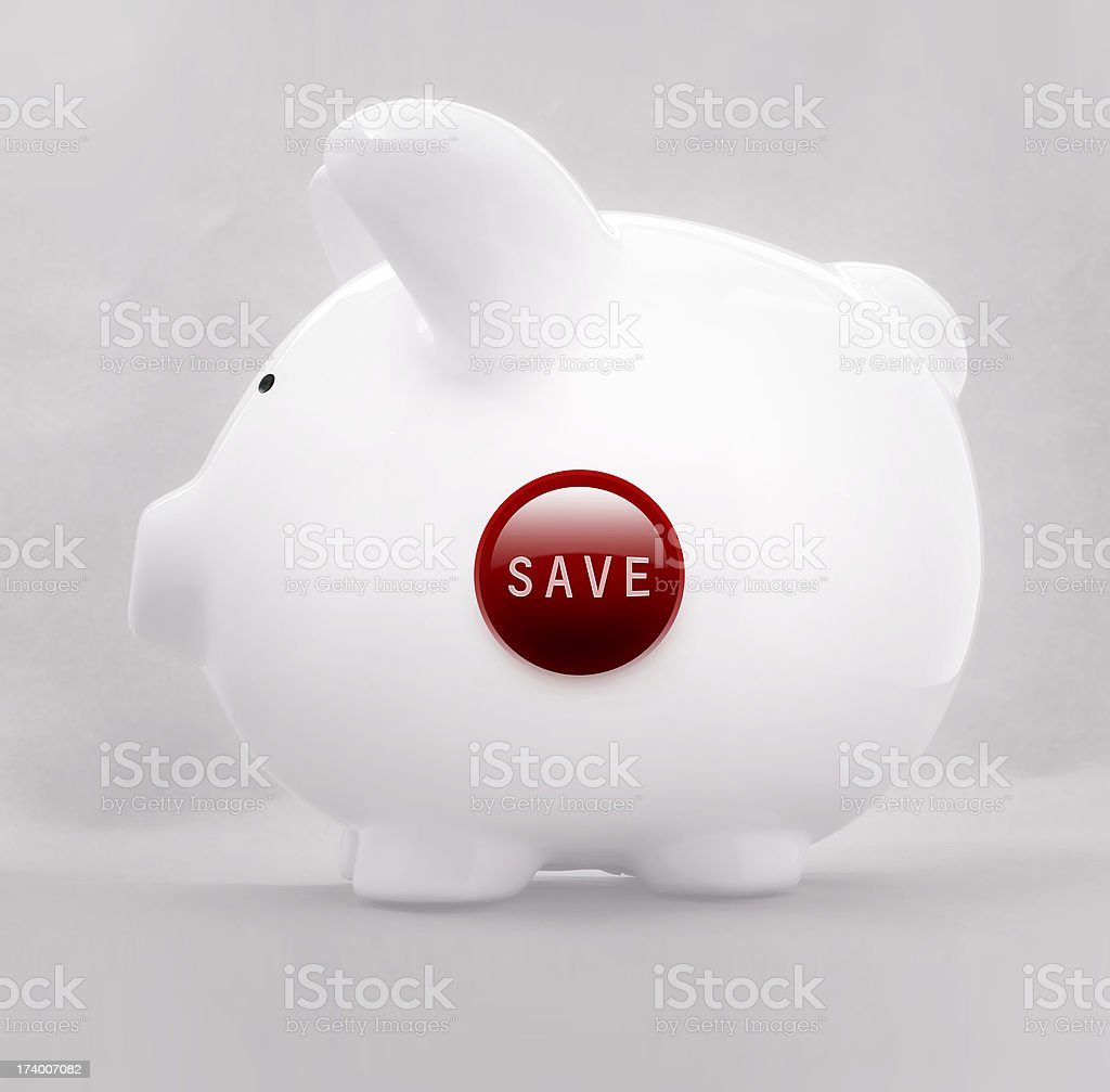 click the pig royalty-free stock photo