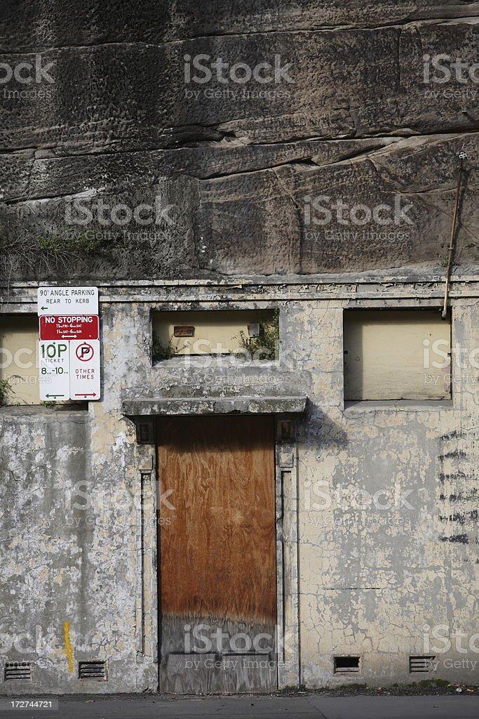 Cliff Door royalty-free stock photo
