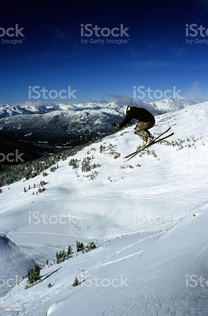 Cliff Dropping royalty-free stock photo