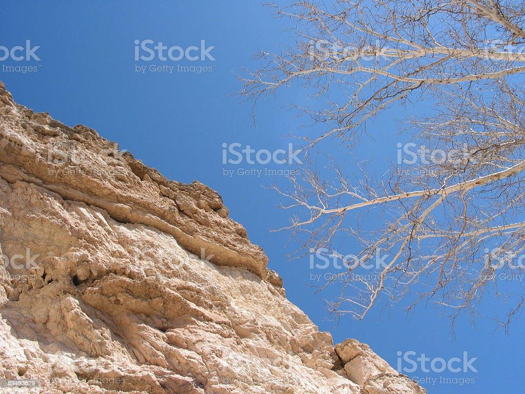 Cliff Face, Montezuma National Monument, Arizona stock photo