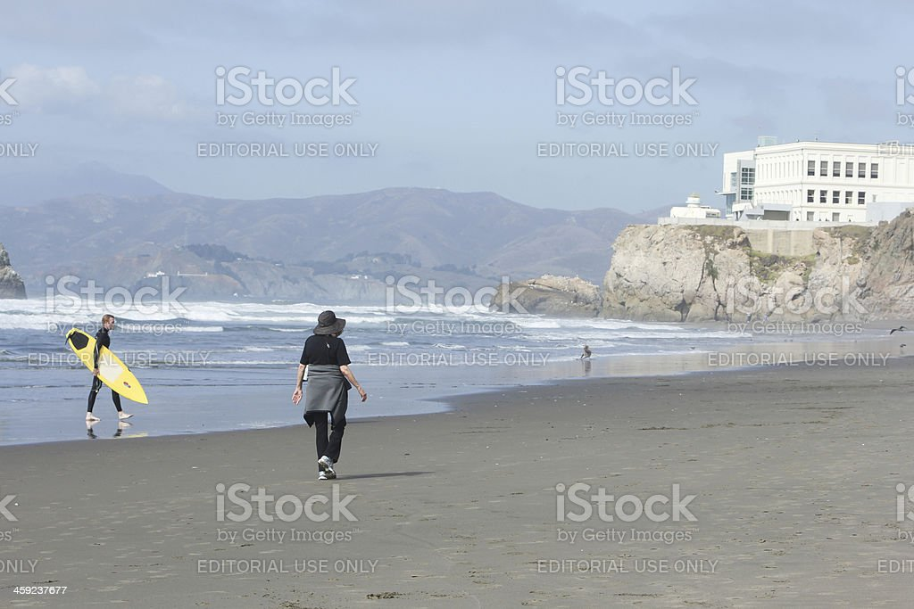 Cliff House in San Francisco, California royalty-free stock photo