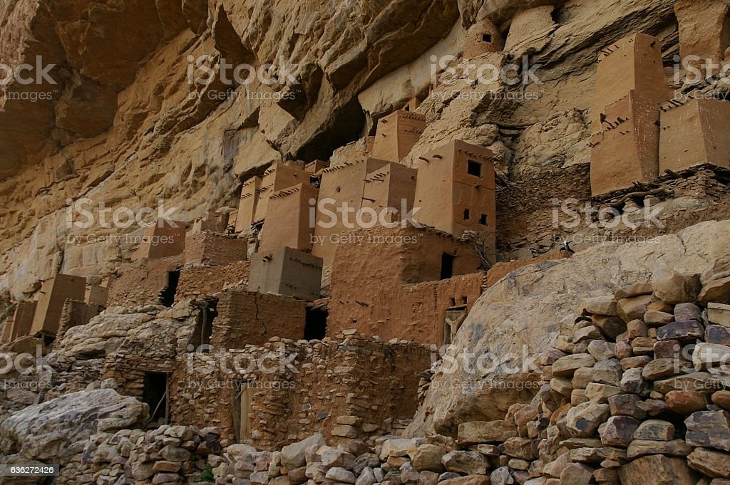 Cliff of Bandiagara, Dogon Country, Mali stock photo