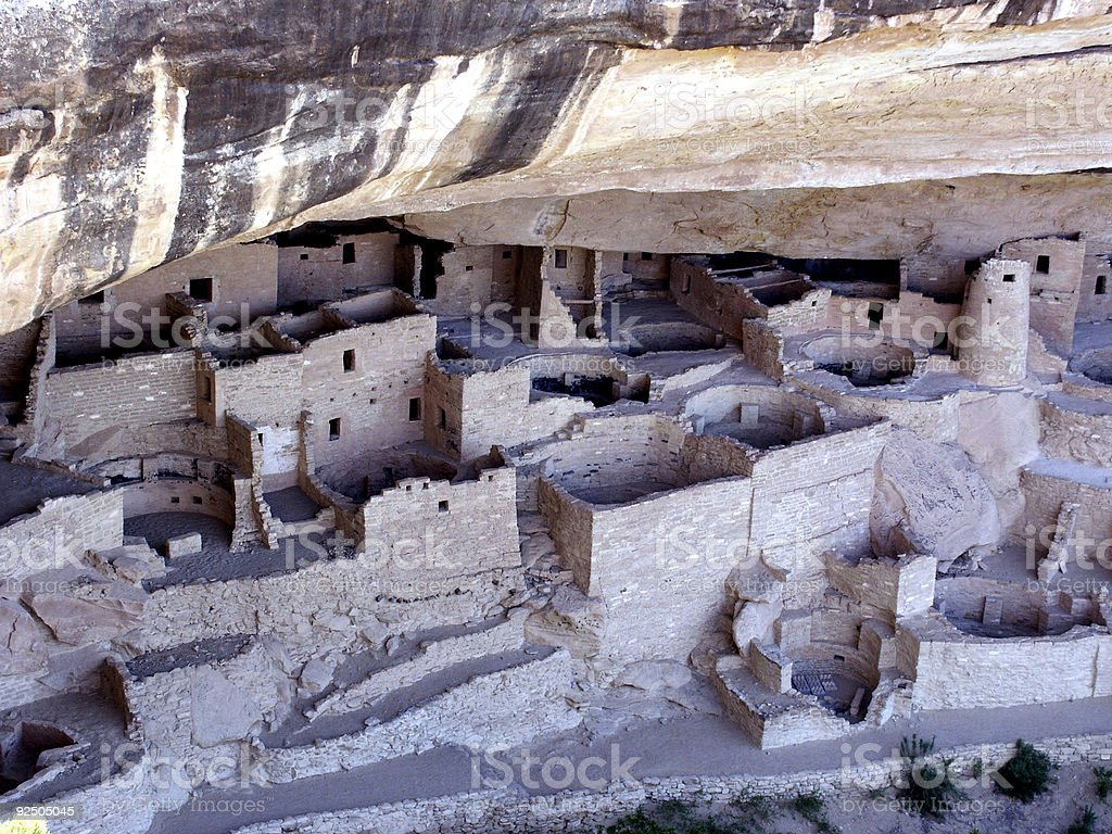 Cliff Palace Complex royalty-free stock photo