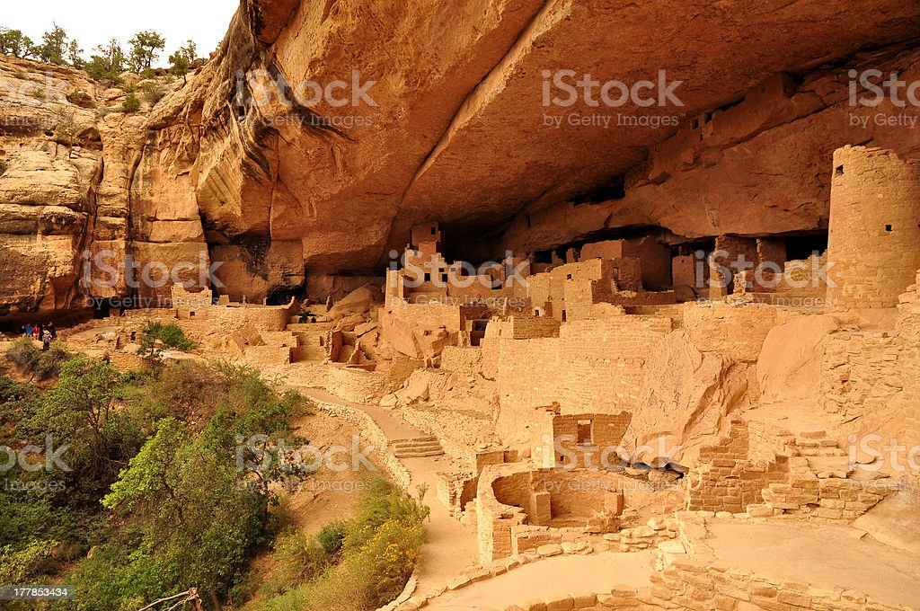 Cliff Palace royalty-free stock photo
