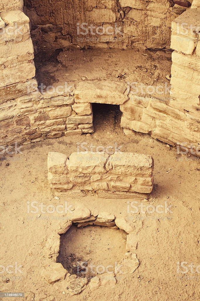 Cliff Palace Ruins - Mesa Verde National Park, Colorado royalty-free stock photo