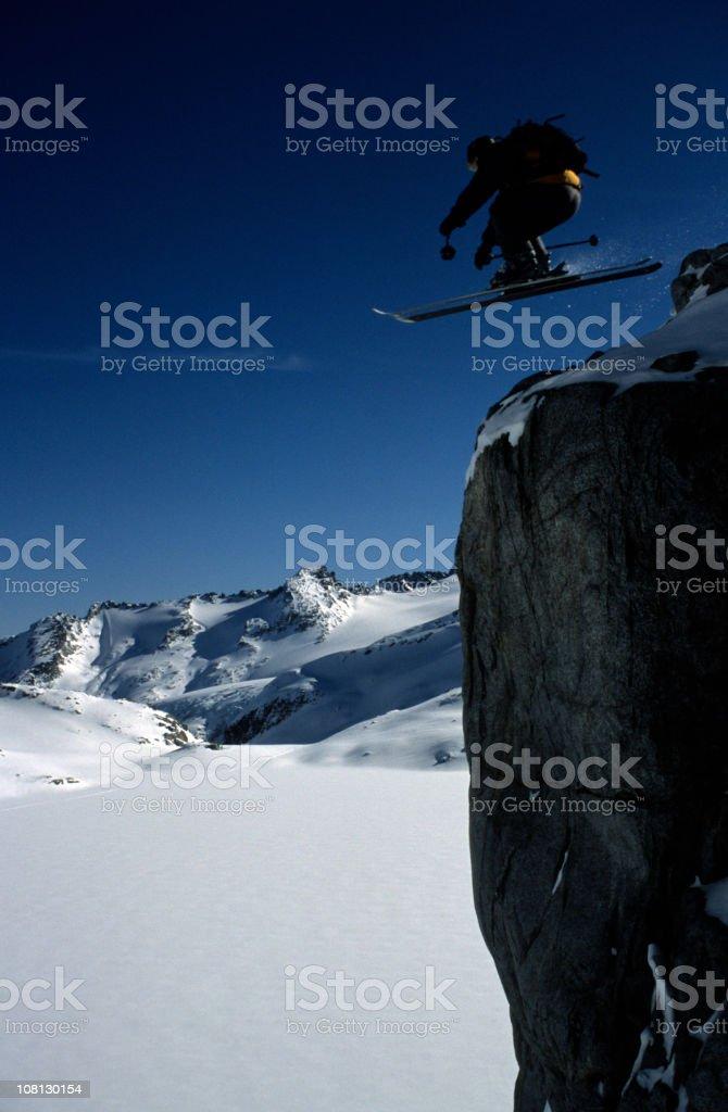 Cliff Ride stock photo
