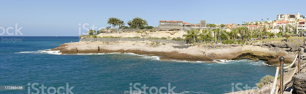 Cliff Top Panorama royalty-free stock photo