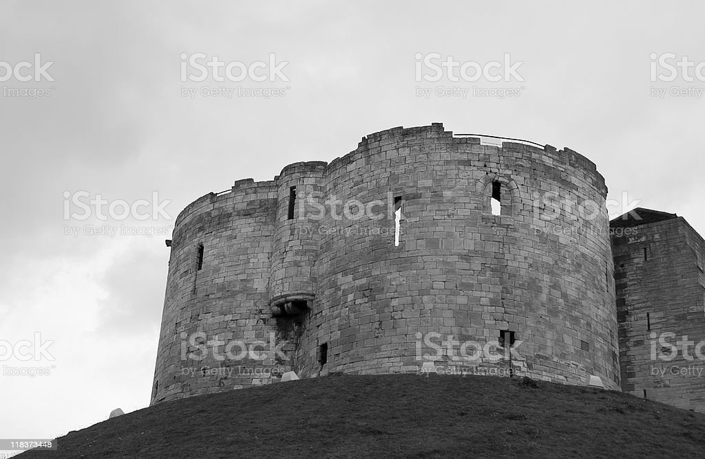 Clifford's Tower royalty-free stock photo